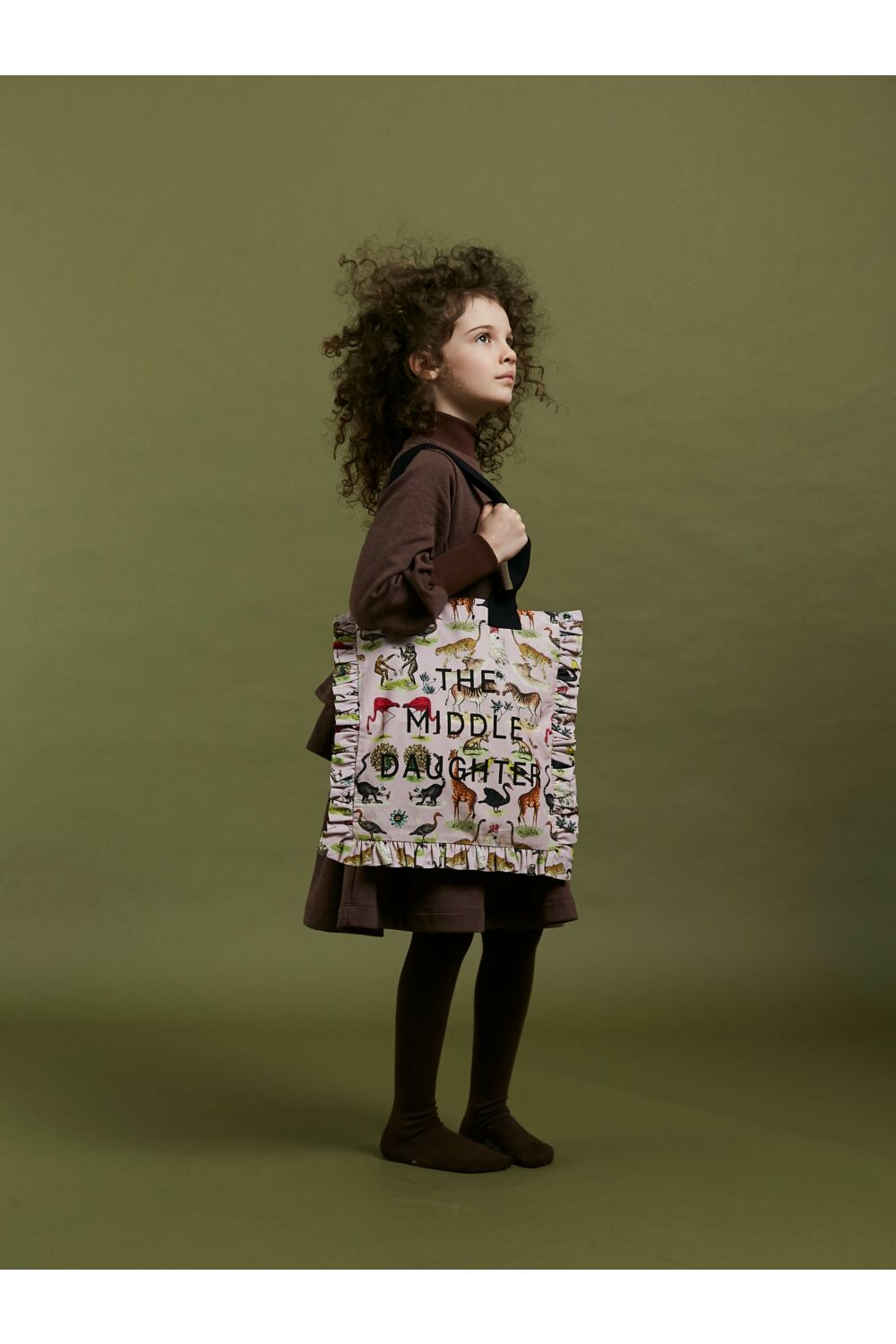 YOU'RE TOTE-ALLY INDISPENSABLE (AND FRILLING)