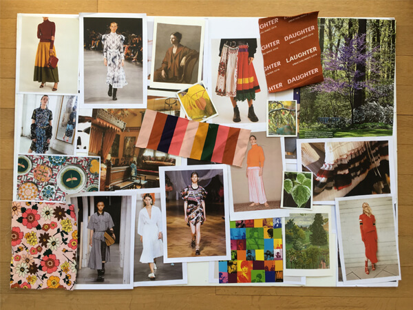 Girls Fashion Mood Board